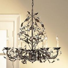 Awesome vine chandelier lovely vine chandelier 42 for your small ballard designs grande claire chandelier at hsn aloadofball Image collections
