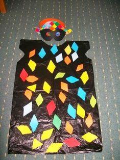 Carnival Crafts, Halloween Carnival, Carnival Masks, Halloween Crafts, Christmas Crafts, Theme Carnaval, Costume Carnaval, Diy For Kids, Crafts For Kids
