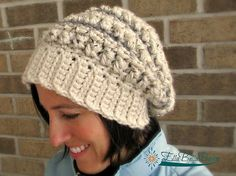Crochet Pattern Knotted Threads Slouch by ACrochetedSimplicity, $3.00