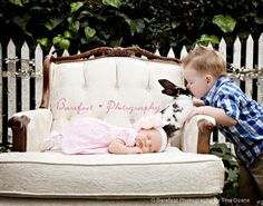 easter newborn bunny photography