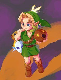 The Legend of Zelda: Majora's Mask (artist?) #Zelda #Nintendo #fanart