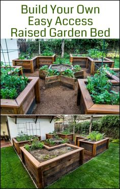 Build an Easy Access Raised Garden Bed