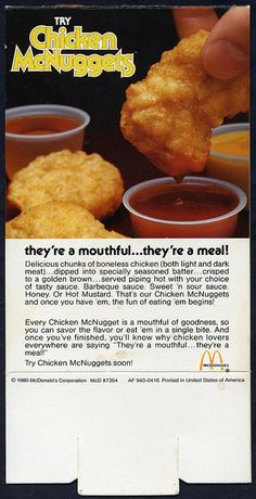Chicken McNuggets coming soon promo.