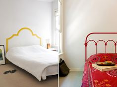 decal headboards - the next best thing for when i can't afford a wrought iron bed