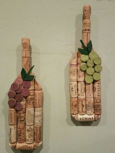 coolest wine cork crafts and diy decorating projects; easy wine cork ideas crafts for kids bottle crafts 32 Coolest Wine Cork Crafts for Kids Wine Craft, Wine Cork Crafts, Wine Bottle Crafts, Diy Bottle, Crafts With Corks, Diy With Corks, Bottle Cap Art, Wine Cork Ornaments, Wine Cork Wreath