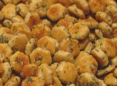 Oyster cracker snacks/croutons