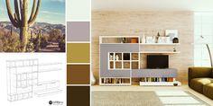 Creează o atmosferă caldă și primitoare cu mobilierul potrivit! Living, Helsinki, Bookcase, Shelves, Home Decor, Shelving, Decoration Home, Room Decor, Shelf