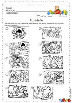 Lipitipi- Atividades e Projetos Fundamental I: Atividade Recorte e Produção de Texto