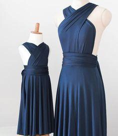 Photo: http://www.tinnainfinitydress.com/ Tinna infinity dress, bridesmaid dresses for the girls and the flower girls.