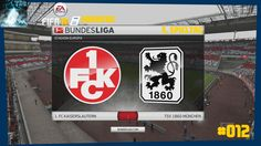 """Let's Play FIFA 16 Trainerkarriere #012 """"FCK vs 1860 München"""" [XBOX One ..."""