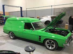 Australian Muscle Cars, Aussie Muscle Cars, Girls Driving, Car Badges, Custom Vans, General Motors, Rat Rods, Hot Cars, Hippy