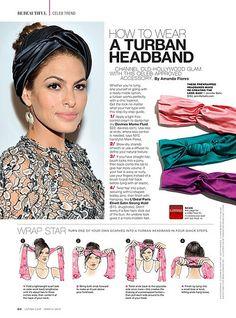 turban tutorial for Latina Magazine Bad Hair, Hair Day, Hair Wrap Scarf, Hair Scarfs, Diy Scarf, Bandana Scarf, Turban Tutorial, Bow Tutorial, Flower Tutorial