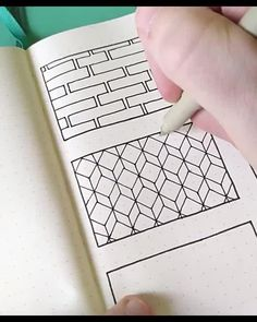 Easy geometric pattern inspiration for bullet journal Doodle Art Drawing, Cool Art Drawings, Mandala Drawing, Pencil Art Drawings, Art Drawings Sketches, Doodle Art Designs, Doodle Patterns, Zentangle Patterns, Geometric Patterns