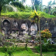 One of Indonesian cultural heritage is Gunung Kawi Temple. Gunug Kawi is an anci