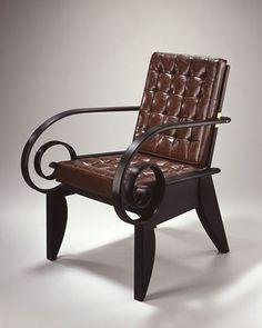 Garry Knox Bennett - Scroll Chair