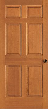 Superior Vertical Grain Douglas Fir 3/4 Hip Raised Six Panel. Solid CoreWood  Interior DoorsMdf ...