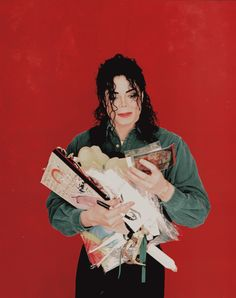 Dangerous World Tour, 1993 september ; backstage