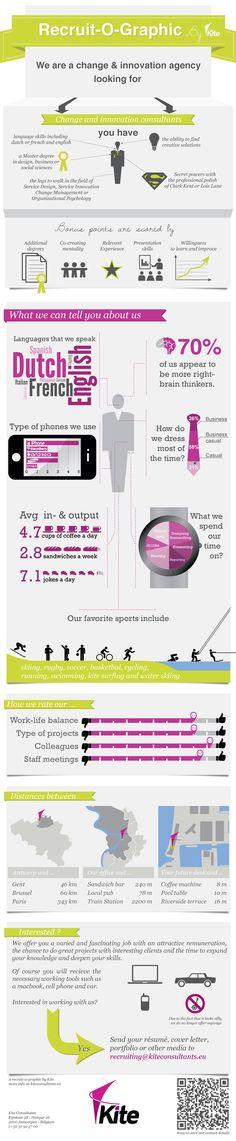Een vacature als infographic? Kite Consultants bewijst het!
