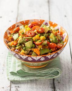 Reseptit - Mexikolainen salaatti suurelle seurueelle