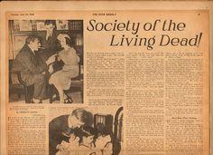 The Case of the Living Dead Women - The Radium Dial Case in the newspapers - The Case of the Living Dead Women - The Radium Dial Case in the newspapers - radium Radium Girls, Girl Standing, Medical History, Vintage Ads, Newspaper, Catholic, Author, Reading, Life