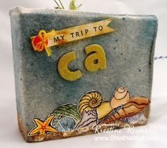 Stamping & Scrapping in California: Hopping with Maya Road and Stampendous