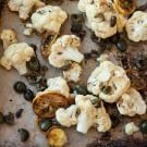Try the Roasted Cauliflower with Lemon and Olives Recipe on williams-sonoma.com/