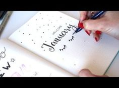 Plan With Me JANUARY 2017 ❤ Bullet Journal | ApuntoC - YouTube