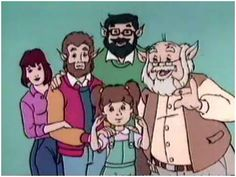 wow.. I'd forgotten about this one.  Teen Wolf used to come on Saturday mornings