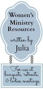 Women's Ministry Resources & ideas by Julia Bettencourt