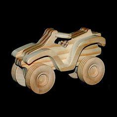 Wood Toy ATV by Northwest Toy, via Flickr