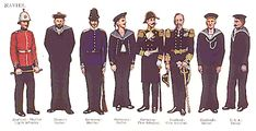 historical naval uniforms - Google Search