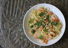 SHRIMP SCAMPI FOR THE SECRET RECIPE CLUB
