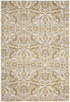 Ikin Ivory/Gold Area Rug