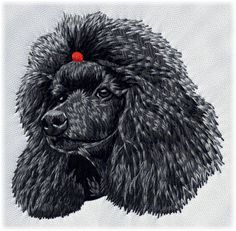 Detailed design documentation - colors, thread consumption, etc. Dog Pattern, Pattern Design, Embroidered Hats, Brass Buckle, Gifts For Pet Lovers, Dad Hats, Dog Design, Mens Fitness, Poodle