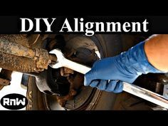 How to Perform a Front End Alignment Yourself - Easy and Free - YouTube