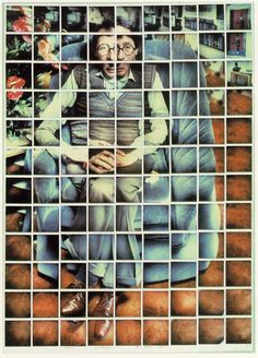 Composite Polaroid by David Hockney.