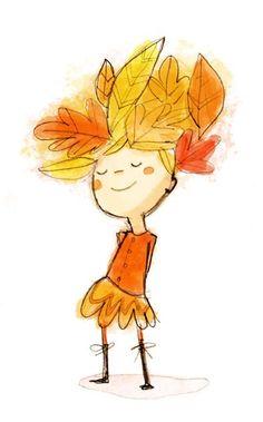da1826c7ef5c6b6633f07465f88e5aa0--smile-drawing-autumn-illustration.jpg (394×634)