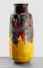 Scheurich 211-53 - Floor Vase (Fat Lava Wadersloh) Tags: west lava fat german pottery 211 wgp scheurich