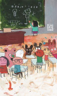 Edgar Plans. oh how i love kids :)