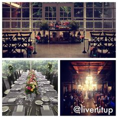 A look back at my July. Elegant inspired wedding in a tent on a farm, a rustic inspired wedding in a photography studio and an eclectic wedding in a warehouse! So is my life! #loveislivenitup