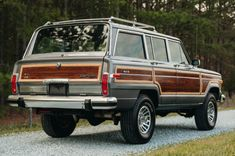 Bid for the chance to own a LS-Powered 1990 Jeep Grand Wagoneer at auction with Bring a Trailer, the home of the best vintage and classic cars online. Old Jeep, Jeep Cj, Jeep Truck, Future Transportation, Jeep Commander, Jeep Wagoneer, Jeep Patriot, Jeep Renegade, Dog Car