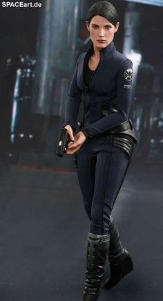 The Avengers 2: Maria Hill, Deluxe-Figur