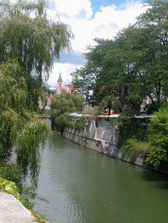 Ljubljanica river, Slovenia