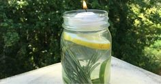 Nothing ruins a summer BBQ or picnic like an invasion of mosquitos. For an all-natural way to get mosquitos off the guest list at your next outdoor gathering try this simple Mosquito Repellant Mason Jar. Lemon Eucalyptus Oil, Keeping Mosquitos Away, Keep Bugs Away, Mason Jars, Pot Mason, Natural Mosquito Repellant, Insect Repellent, Cleaning Hacks, Gardening Tips