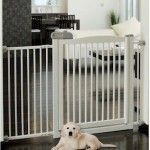Richell Pet Products Extra Wide Tension Mount Pet Gate – White – Questions & Answers
