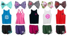 Rock your next gym session in apparel from marleylilly.com! #gym #monogram #gymrat #fitness #run #girlswholift
