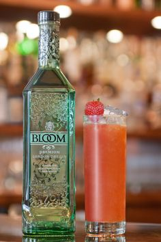 Kettners Champagne Bar - BLOOM London Dry Gin cocktail for London Cocktail Week 2012