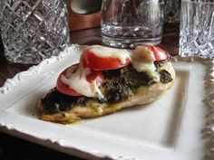 Healthy Tasty Recipes: Baked Pesto Chicken