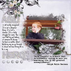 My+Hero - Scrapbook.com