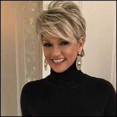 Kurze Haarschnitte für ältere Frauen-10 | Kurze Frisuren | Pinterest ...